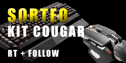 ¡Consigue el kit Cougar 700 de ALTO RENDIMIENTO valorado en MAS DE 200€ de regalo! http://t.co/PlG4ST66Ss http://t.co/AJW1euwaSn