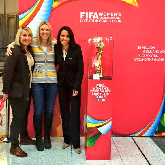 Yes:45m female soccer players globally by 2019!Create opportunity,grow participation,celebrate success #LiveYourGoals http://t.co/zDTTfRvZUP
