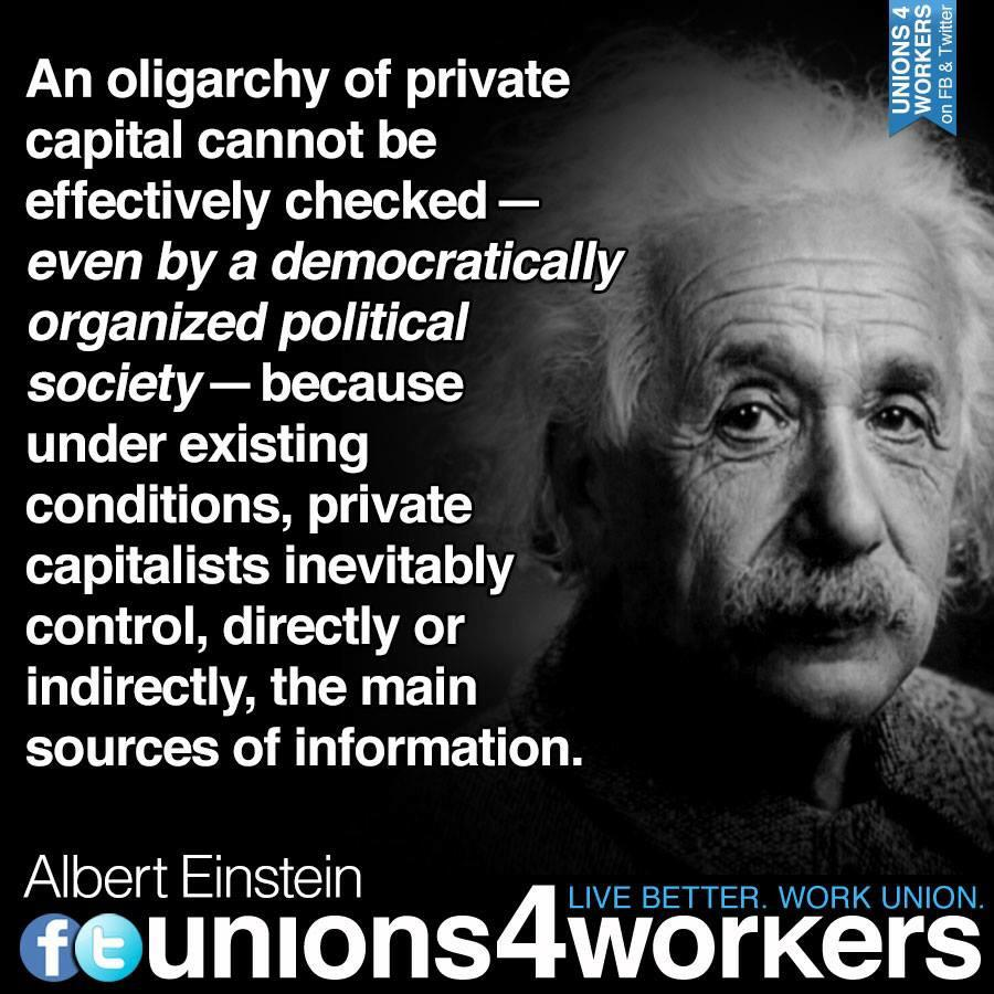 Oligarchy or democracy
