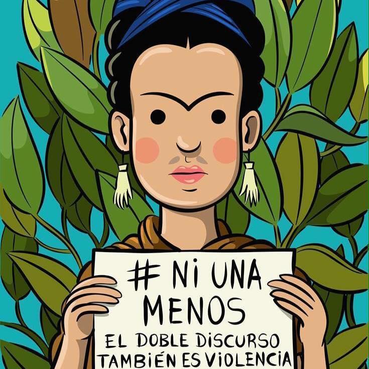 La consigna es clara, gritemos fuerte #NiUnaMenos http://t.co/USmlY07Bhx