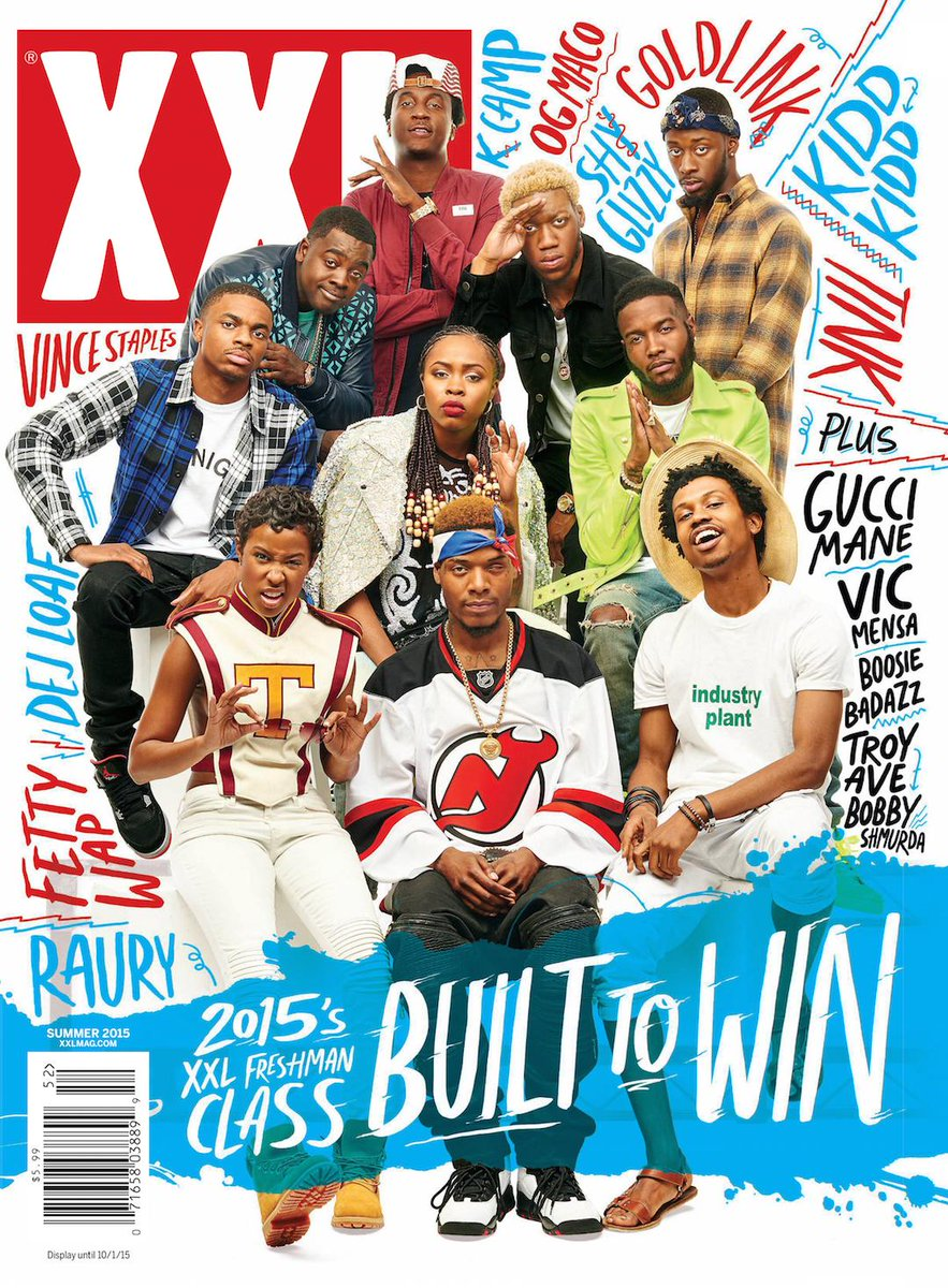 The Wait Is Over: Here Is the 2015 XXL Freshman Class #xxlfreshmen http://t.co/rlPtlFii0a
