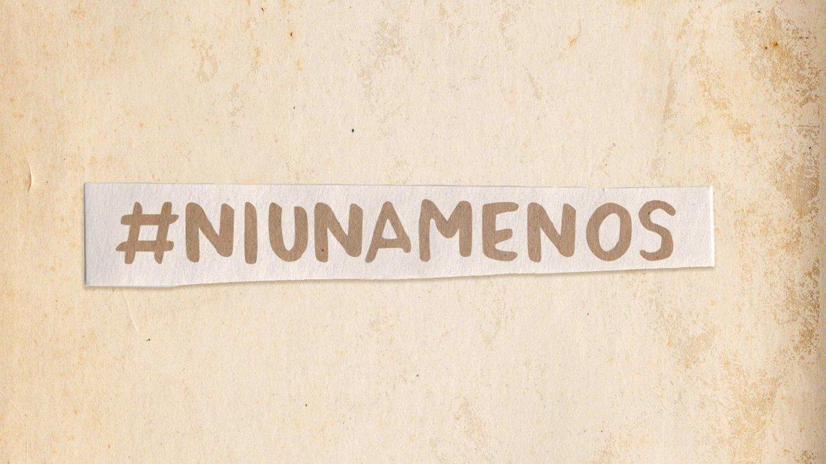 Hoy, y siempre #NiUnaMenos http://t.co/izRygE9wPj