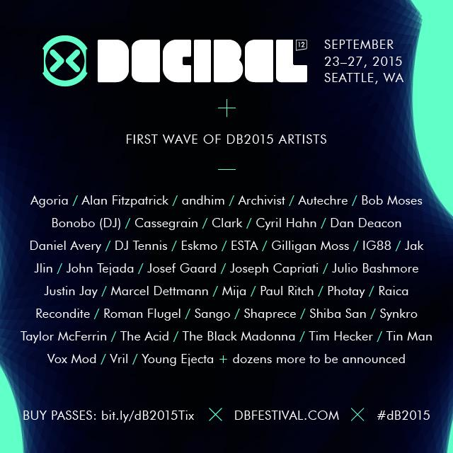 We just announced the 1st wave of #dB2015 artists - https://t.co/cgJxsKakmK. RT for a chance to win a festival pass! http://t.co/pnU61rlT51