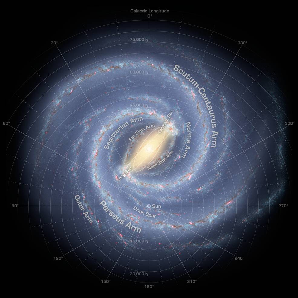 WISE helps map the beautiful spiral arms of our Milky Way galaxy http://t.co/CoUA4VJnwS http://t.co/CHDVSWmTy5