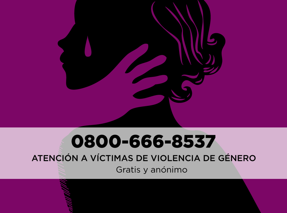Compartí este número: 0800-666-8537 #NiUnaMenos http://t.co/GbAVWeMTsJ