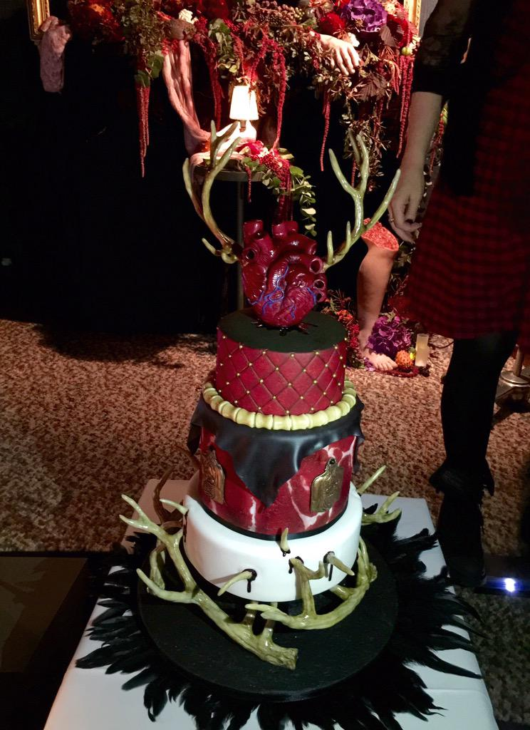 Evil Cake #HannibalFeast http://t.co/yHDCI5dO5U