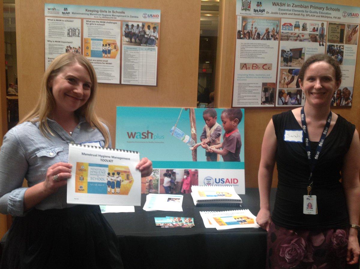 #MenstrualHygiene management solutions at #MHDayDC via @fhi360 @washplusinfo SPLASH project! http://t.co/qvyPIwNzOr http://t.co/9s8PfArZKT