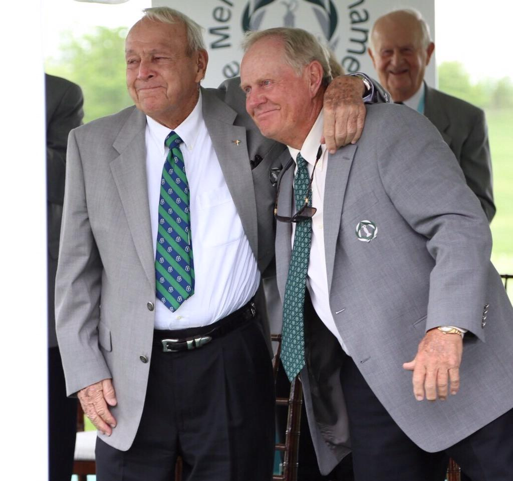 Two legends at #theMemorial http://t.co/oUQP9rKAEw