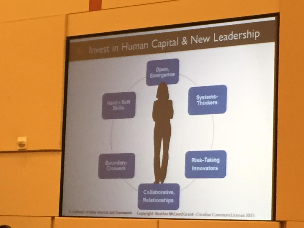 A key barrier to scaling #nonprofits is scaling talent. Here are some traits @hmcgrant suggests at #501conference. http://t.co/EhnqP1y2Pm