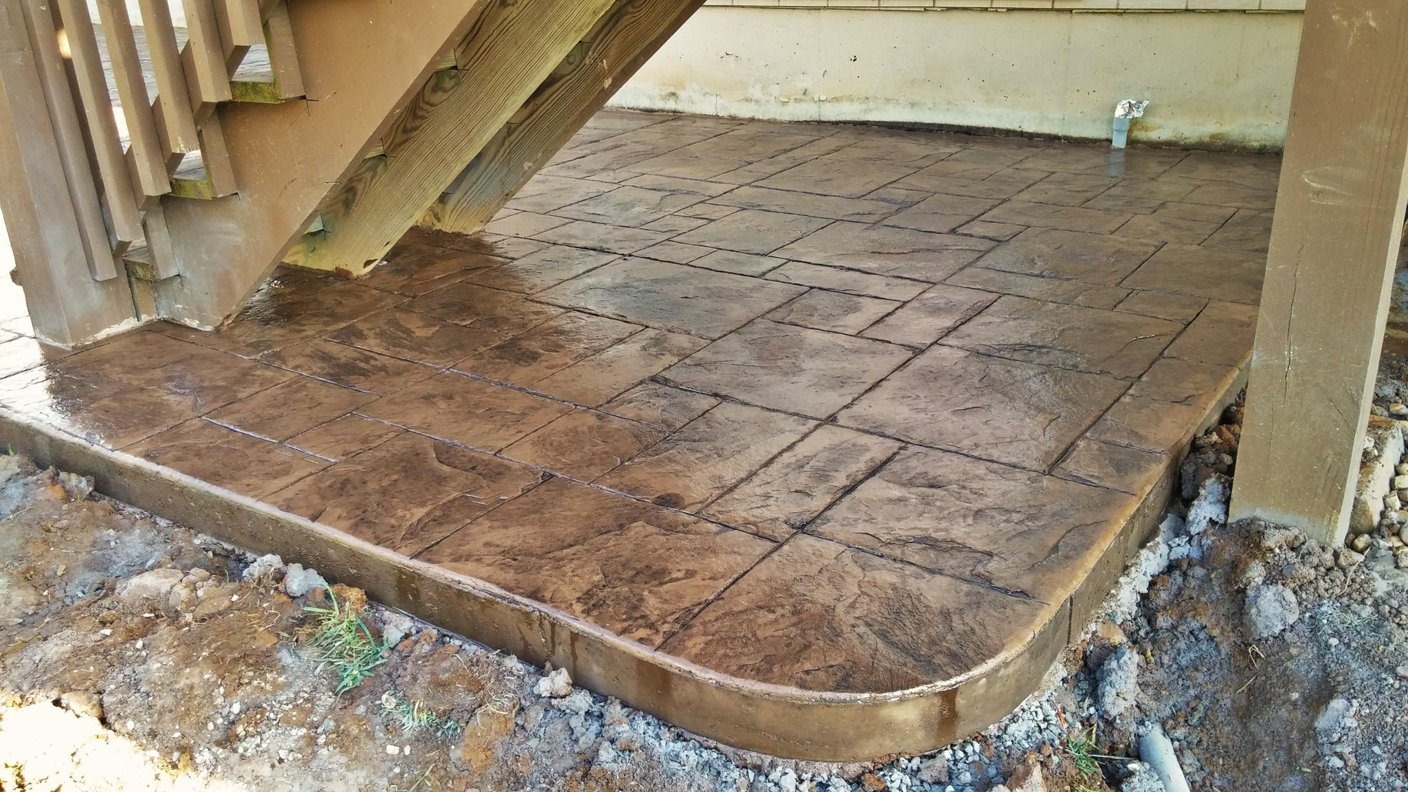 Stamped Concrete Expansion Joints : Maya stone concrete on twitter quot decorative stamped