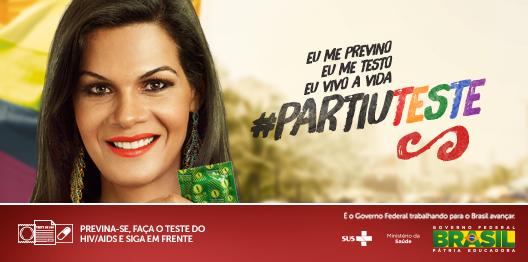 A Av. Paulista vai lotar numa festa de diversidade e respeito. Se rolar um clima, #UseCamisinha #PartiuTeste