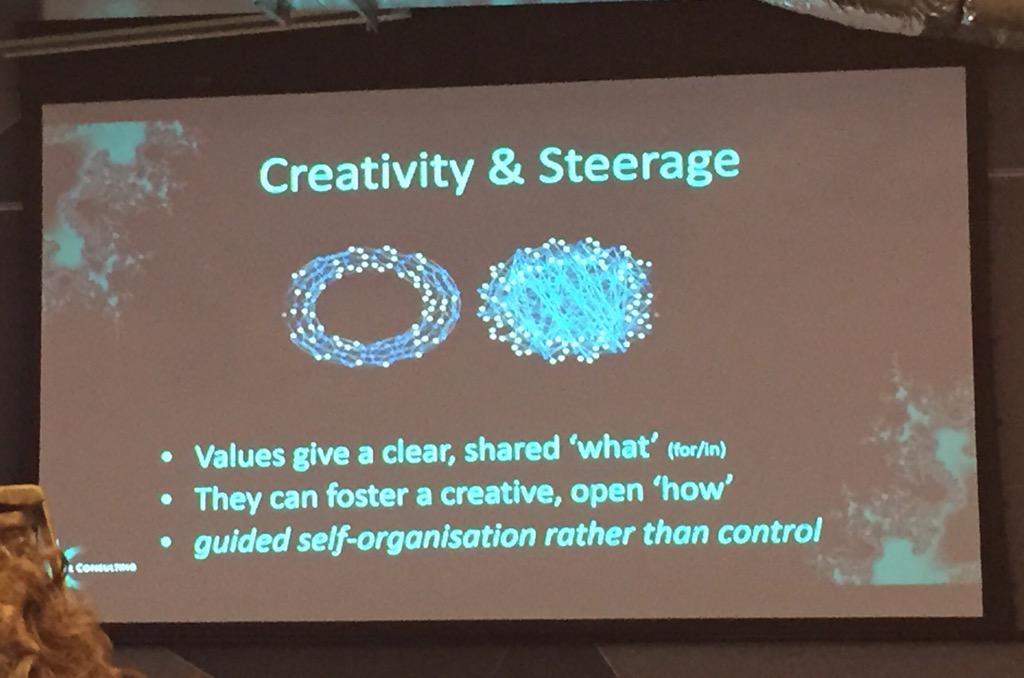 """Values give a clear, shared 'what'"" says Dr Fiona Kerr #vividideas #fow2015 http://t.co/v6SHV7Fpes"