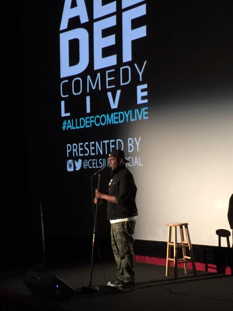 .@EsauMcgraw is hilarious, @johnlegend impersonation is too funny! @CelsiusOfficial @AllDefDigital #AllDefComedyLive http://t.co/i3ZtNpeKUY