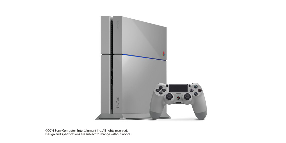 We're celebrating the #UCLfinal & you can win a 20th Anniversary PS4. RT this to enter! T&C>> http://t.co/wokdOQfJDz http://t.co/TOLxUgYjib