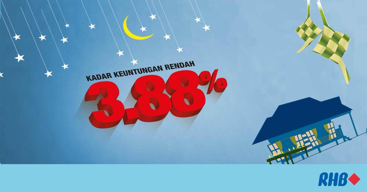 Pembiayaan Peribadi RHB Islamic utk kakitangan Kerajaan Persekutuan dgn kadar keuntungan 3.88% http://bit.ly/1EY8cRZ