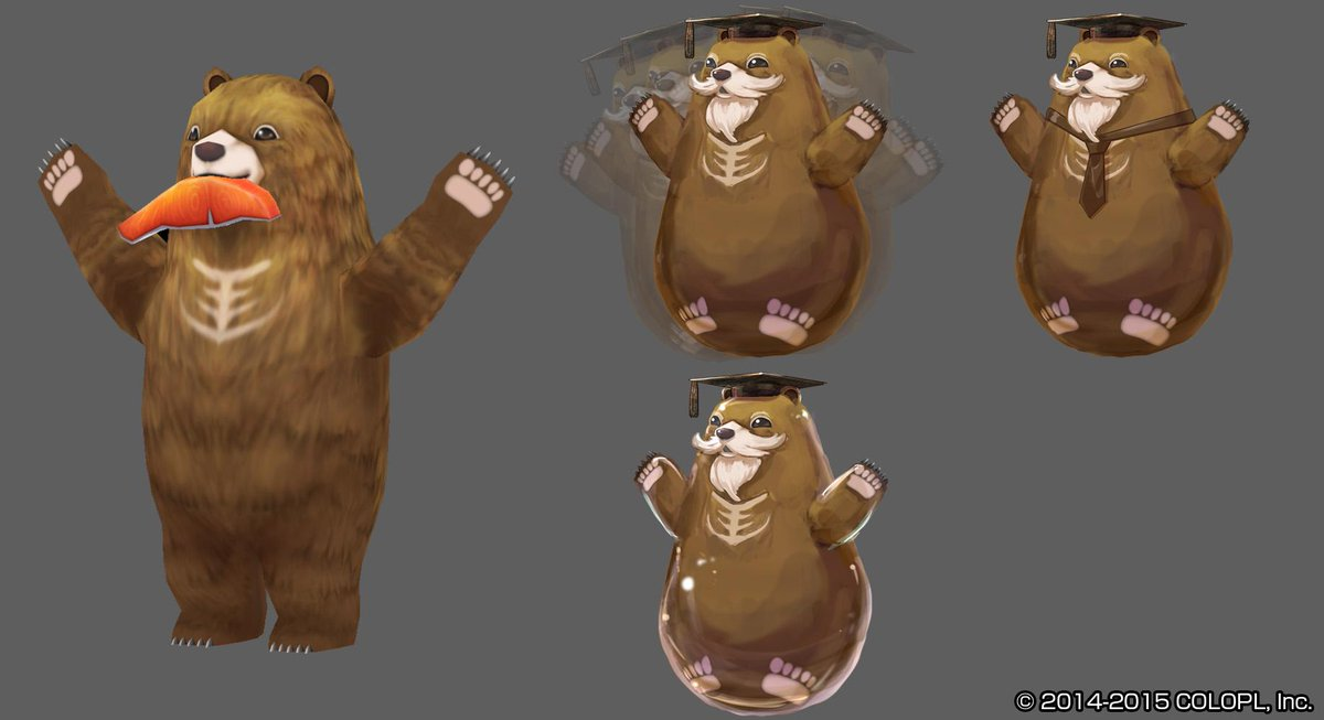 【白猫】茶熊学園特設サイト更新!制服デザインラフ画などが公開、カムイ学長がおきあがりこぼしに…?【プロジェクト】