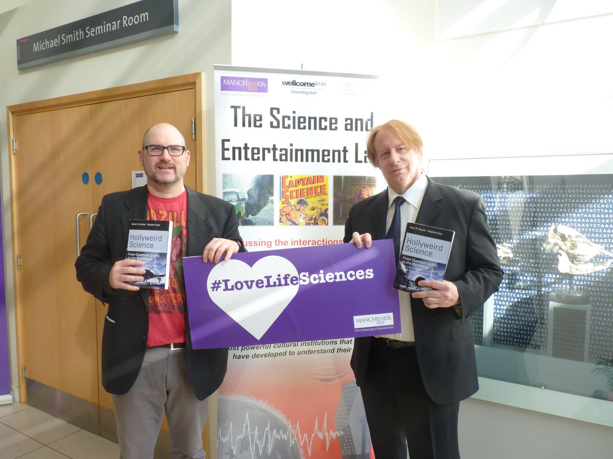 We #LoveLifeSciences at our public lecture w/@kevingrazier (w/David A. Kirby)(ht/@LifeSciencesUoM) #SciStories2015 http://t.co/xYjZ4jBrLm