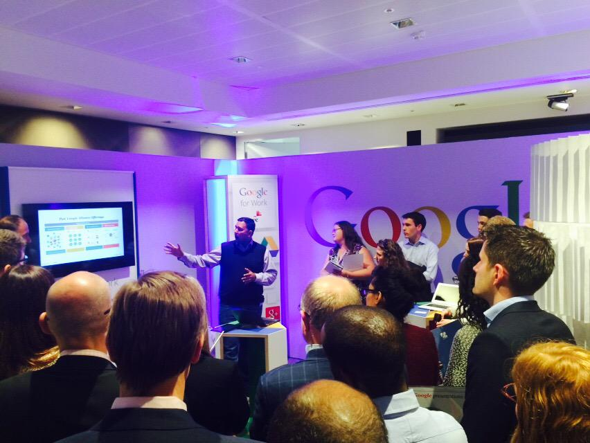 Reinventing Work with @Google and @PwC_UK #ExplorePwC http://t.co/bfK4rxjH0Y
