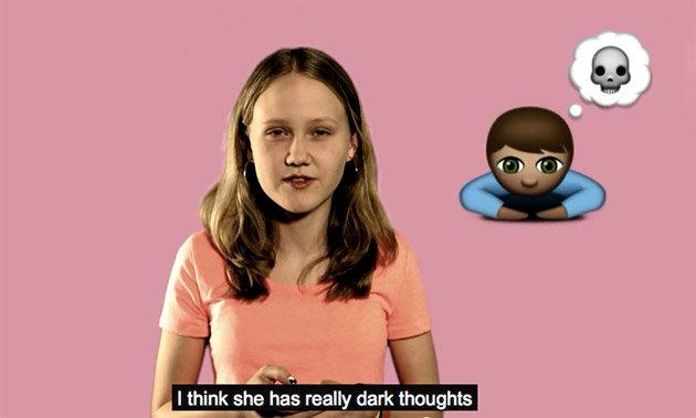 'Abused emoji' give kids an easy way to talk about serious issues