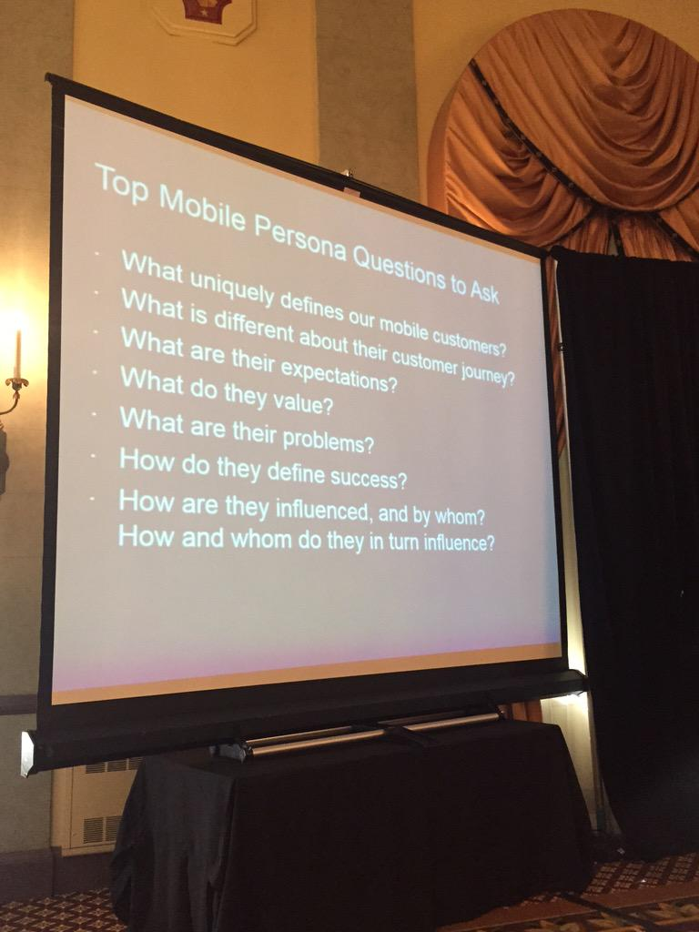 top mobile persona questions to ask from @jaimy_marie @altimetergroup #mmss2015 http://t.co/8OOn1chRzd