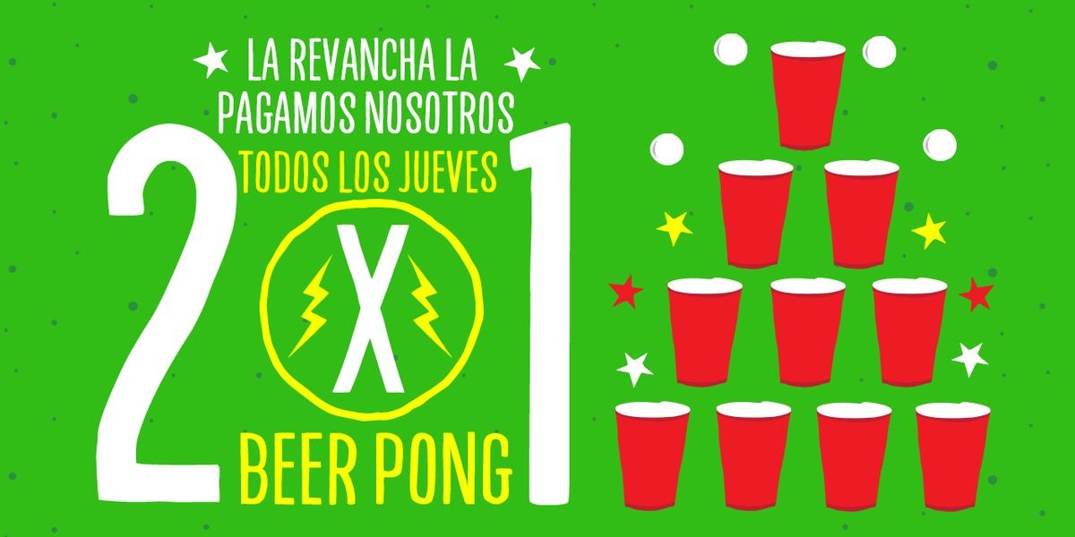 Hoy y como todos los #Jueves, los amigos de @BarChupitos organizan #BeerPong #NosVemosAllá #Hoy2x1  #RestoFavorito   http://t.co/quXC7GktmB