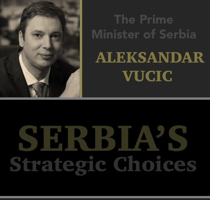 TODAY Prime Minister of #Serbia Aleksandar Vucic to discuss Serbia's strategic choices. Stay tuned for live coverage http://t.co/zXsVszFyDv