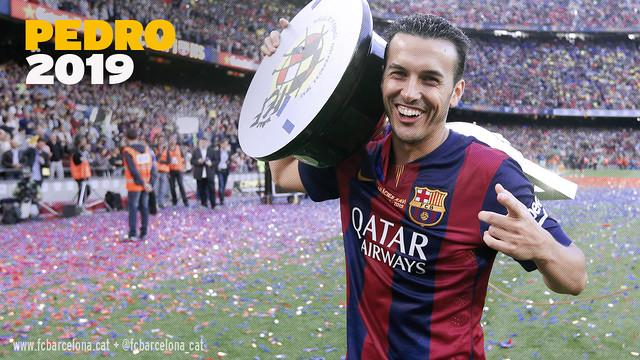 Pedro Signs New Contract With Barcelona
