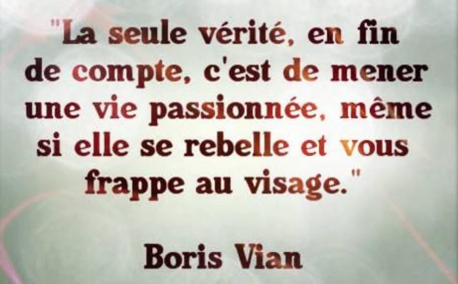 J Marc On Twitter Citation Boris Vian Http T Co Q1mvj6zyap