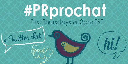 #PRprochat in 30 min! Topic: building media lists: skill or art form? http://t.co/SbYPWRpvvK