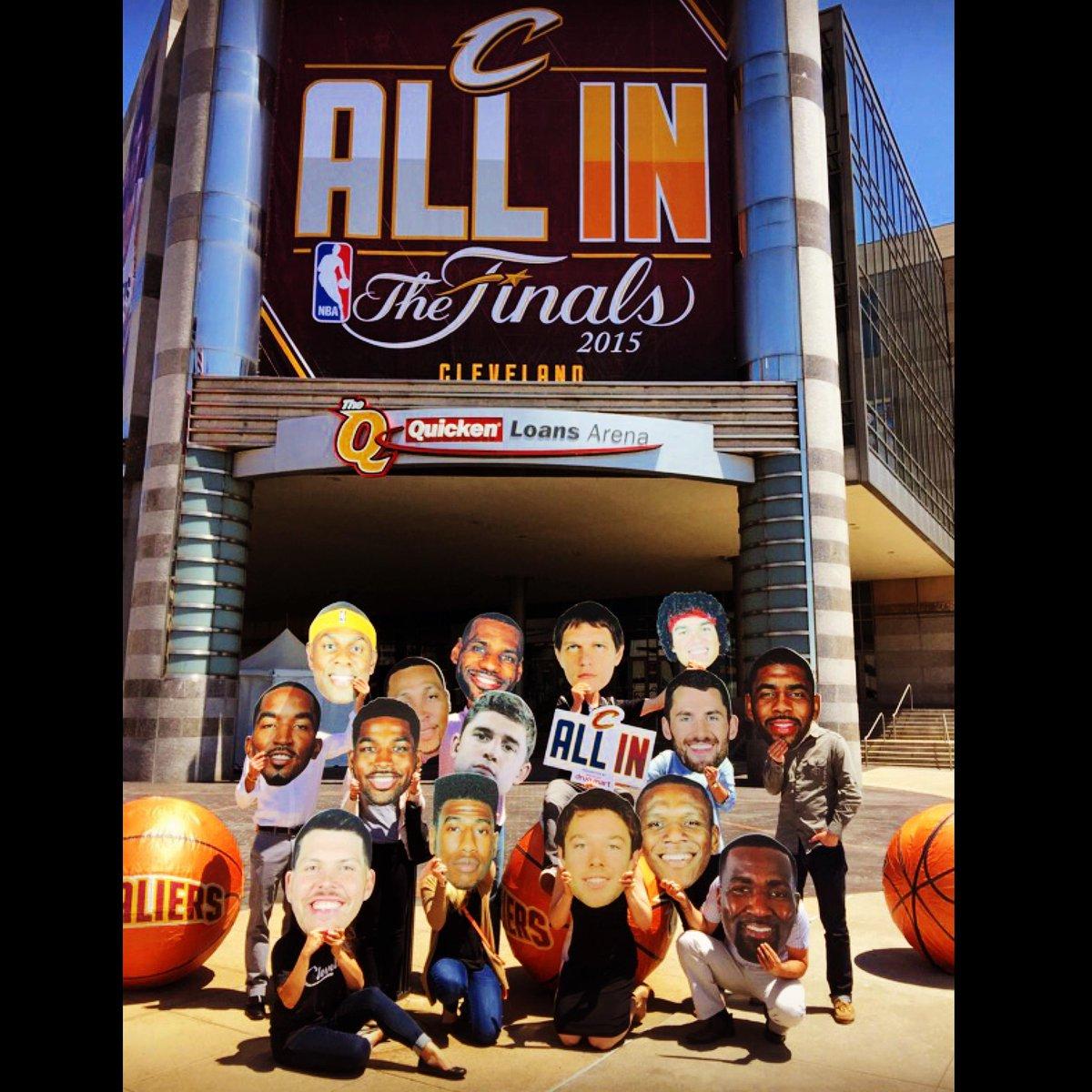 Let's go @cavs! #NBA #NBAFinals #ThisisCLE @NBA #TheLand http://t.co/SvkjMTc3o4