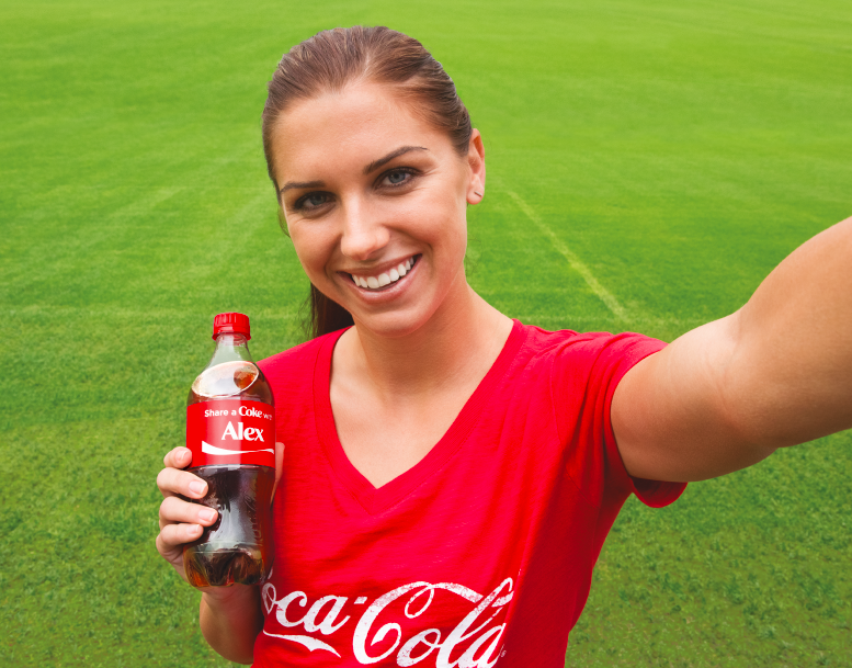 "Alex Morgan On Twitter: ""Find A Coke With My Name & Tweet"