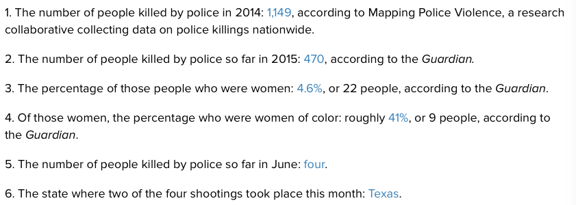 RT @micnews: 25 true facts about police brutality in America http://t.co/h6pyCLzOOF http://t.co/oPqXGGgPJJ
