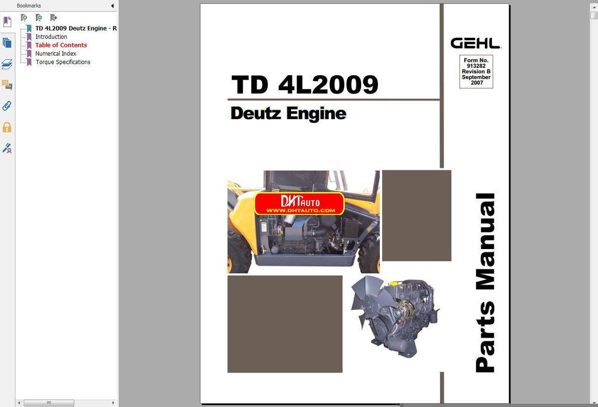 read deutz engine parts manual 4l914 pdf conorjaylon  chevrolet silverado  shop e cat complete  simpson, hyundai r360lc crawler excavator improved,