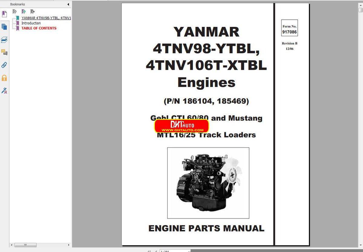 Gehl Ctl60 manual