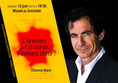 """Thumbnail for Etienne Klein : """"L'univers a-t-il connu l'instant zéro ?"""""""