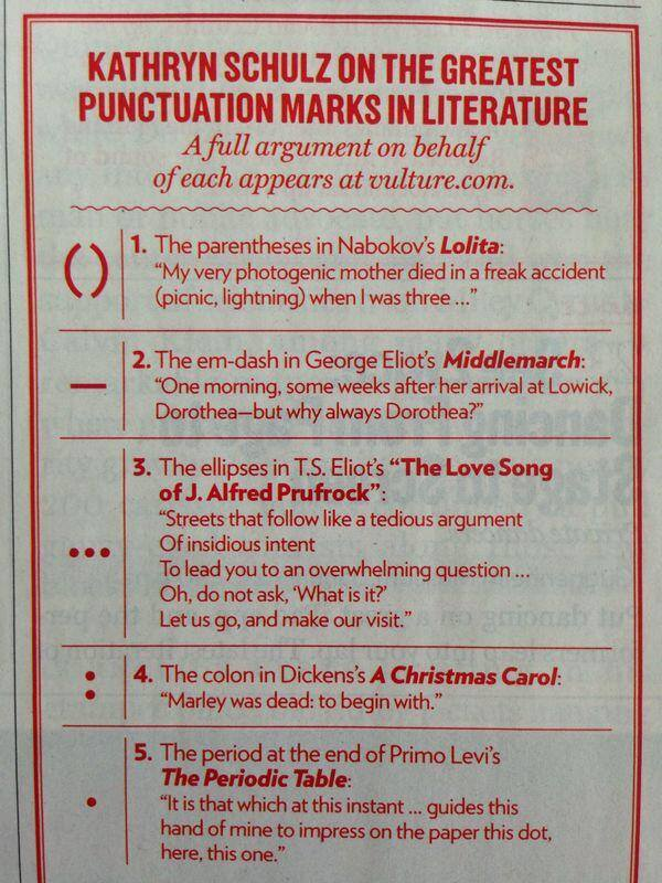 The 5 best punctuation marks in literature, by @kathrynschulz: http://t.co/Ewhs89Bw9r http://t.co/EkuDjHfTMn