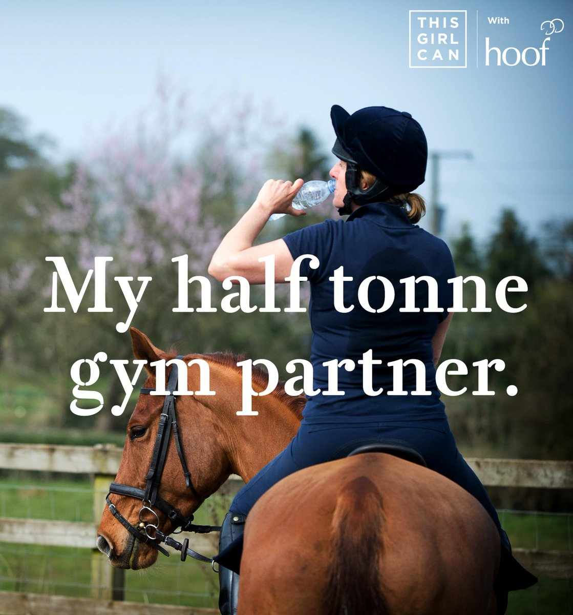 Like & share if your perfect gym partner has four legs not two #ThisGirlCan #mysport #WSW2015 http://t.co/kb90TNTXQB http://t.co/i1in8ZRs6l