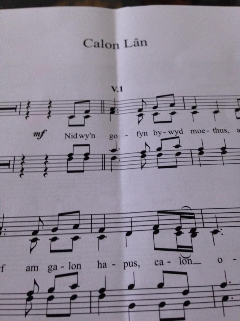 This is the song that could help us at cor @BBCRadioCymru break a world record.Tune in 16.20 http://t.co/wSa1XcJ5w3