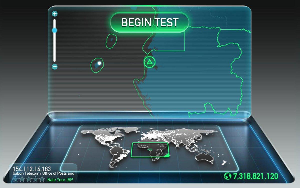 Quelle est la vitesse download/upload en ce moment dans votre pays ??? #Realtime #Speedtest #LTE #Afrique http://t.co/yys0XBvsXQ
