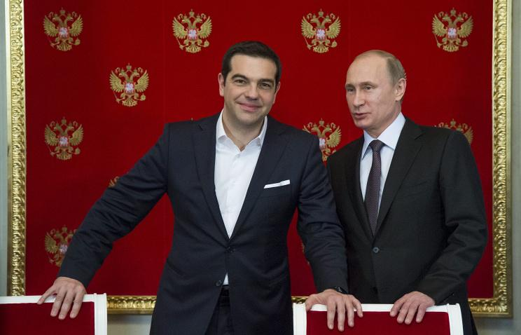 Putin and Tsipras discussed Turkish Stream, agreed to meet at #SPIEF — Kremlin http://t.co/zzVNvqvt7O http://t.co/lrPP55hZ0Z