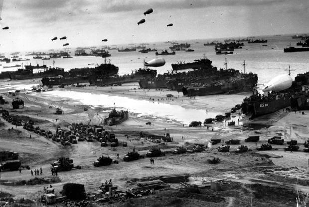 On June 6, 1944, more than 160,000 Allied troops landed along the beaches of #Normandy to fight Nazi Germany. #DDay
