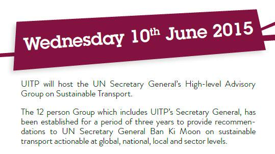 Thumbnail for #UITP2015 LIVE - 10 June 2015