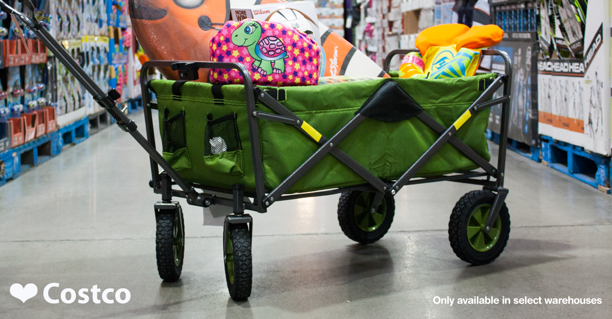Tag: Costco Folding Wagon - Dolled Up Design
