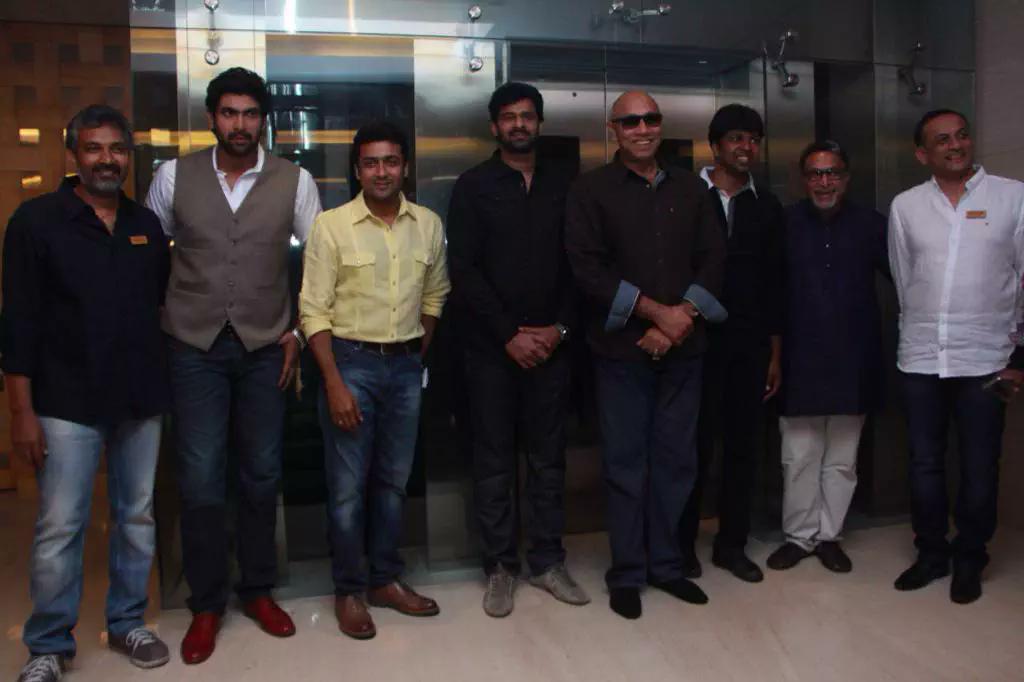 Suriya launches Baahubali Tamil Trailer