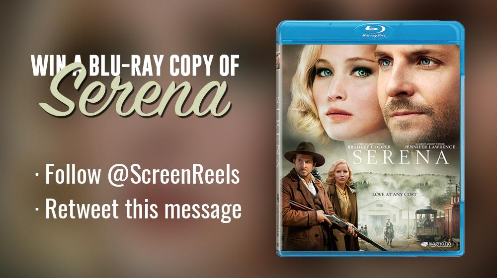 Follow @ScreenReels and RT this tweet for a chance to win a copy of #Serena! (US only) http://t.co/7M9FsMM7Qn http://t.co/nVsmggErnK