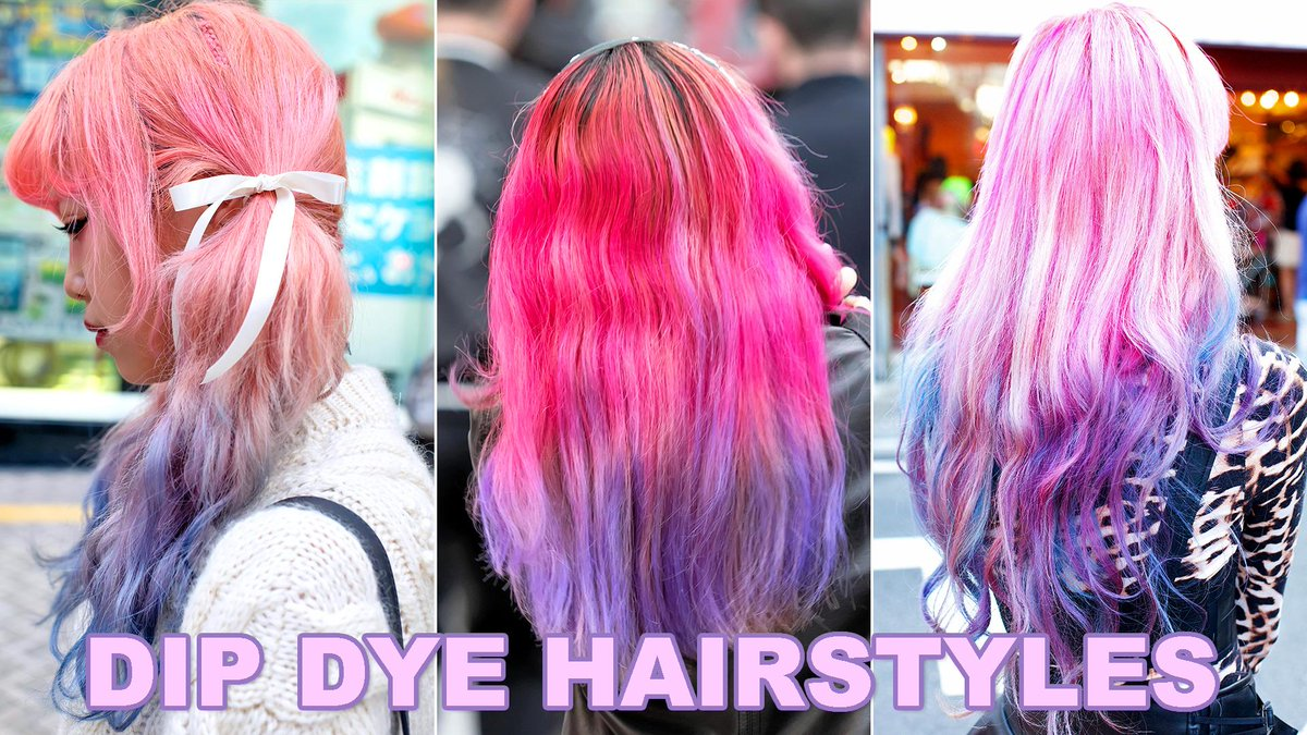 7d66c6af9032d 15 Dip Dye Looks From Japan. New video w/ 15 of our fav super-colorful  Japanese hairstyles https://youtu.be/YireIcSuJVw pic.twitter.com/sdjPDZ6gfN