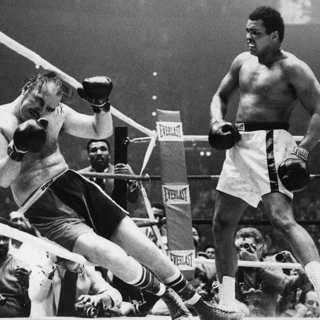 the life and boxing achievements of cassius clay aka muhammad ali Louisville, forever changed by muhammad ali,  the young cassius clay, not yet called ali  illustrations depicting boxing legend muhammad ali at the door of his.