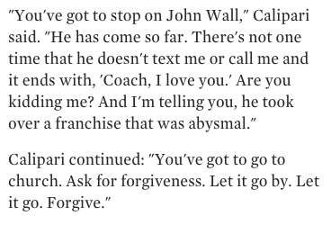 John Calipari told Colin Cowherd to go to church