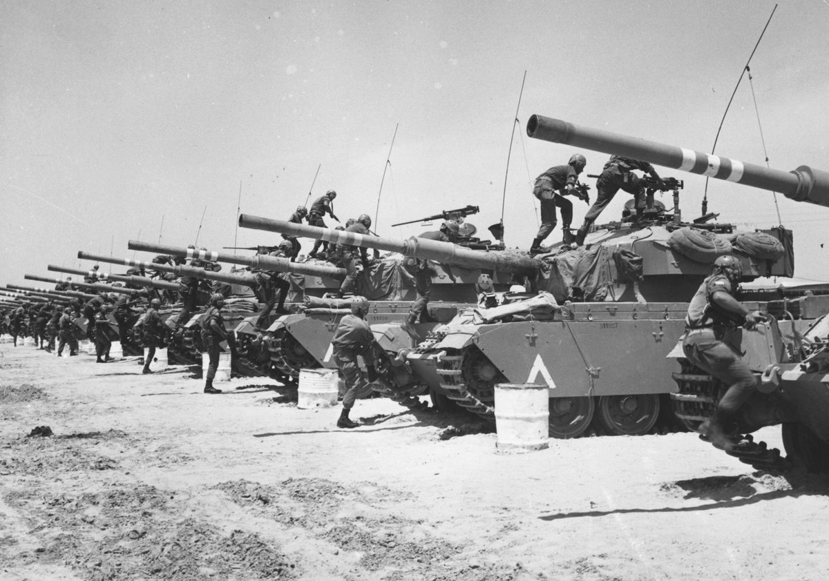 Cold War Project On Twitter Otd In 67 The Six Day War Starts When Israel Responds 2 Arab Force Buildups Egypt Syria