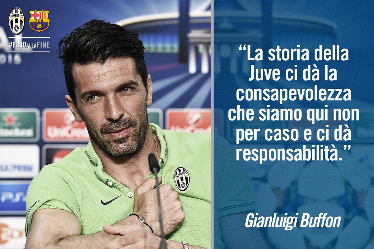 FOTO Buffon | Juventus Barcellona Streaming Rojadirecta